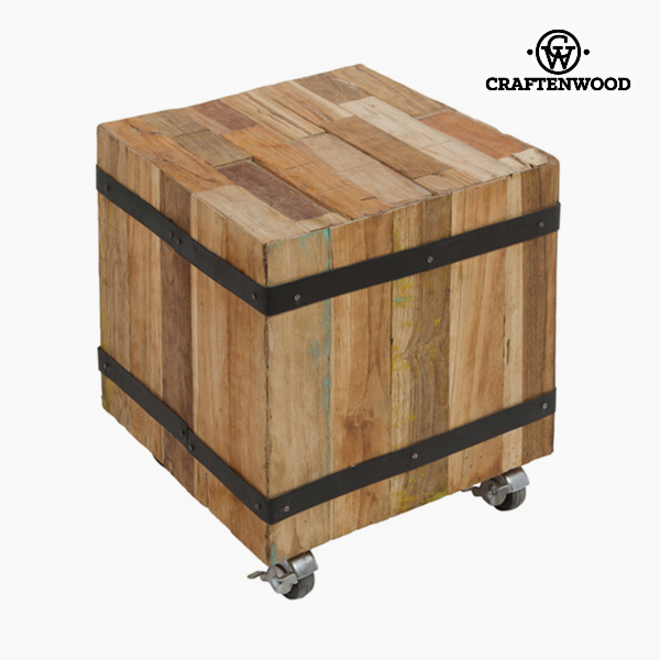 Mesa Auxiliar Cubo Madera (37 x 37 x 37 cm) - Colección Be Yourself by Craftenwood