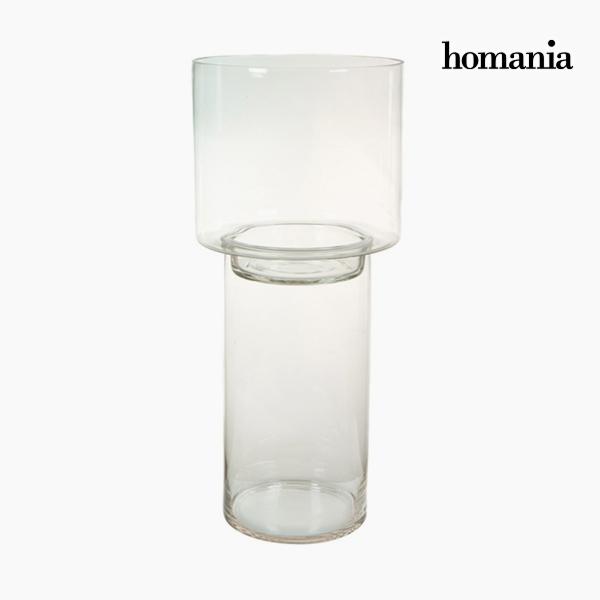 Portavelas Vidrio - Colección Pure Crystal Deco by Homania