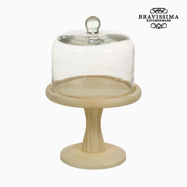 Porta torta Vetro Legno - Kitchen's Deco Collezione by Bravissima Kitchen