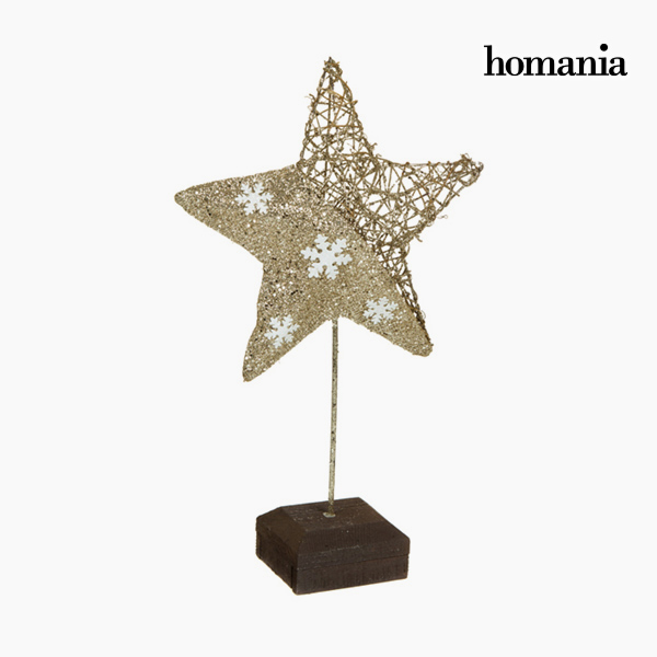 Statua Decorativa Stella Șampanie Oro by Homania