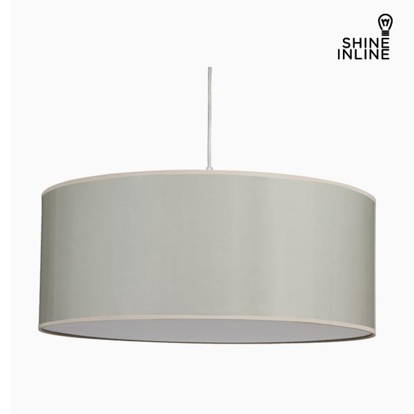 Lámpara de Techo Algodón y poliéster Gris by Shine Inline