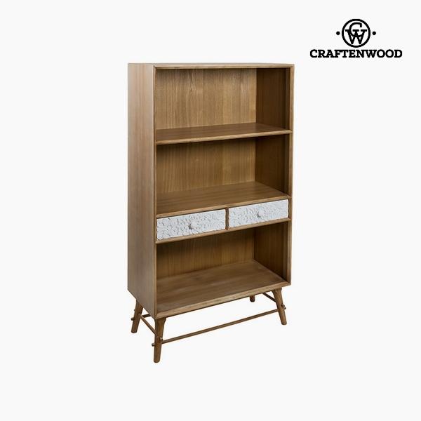 Scaffale Mdf e legno di pino (2 sertare) (80 x 36 x 142 cm) by Craftenwood