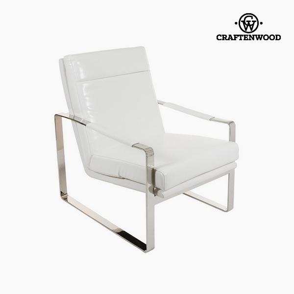 Poltrona Bianco (70 x 85 x 100 cm) by Craftenwood