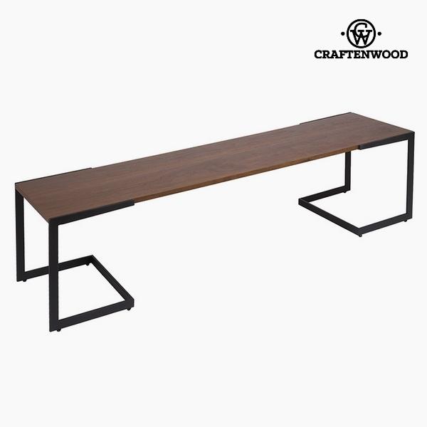 Tavolo per Televisione Dm Legno di noce (160 x 40 x 50 cm) by Craftenwood