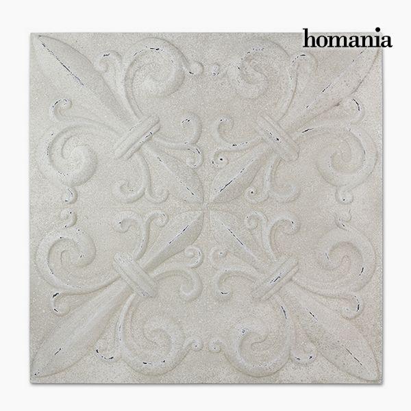 Decorazione pensile P?trat Bianco (94 x 94 x 7 cm) by Homania