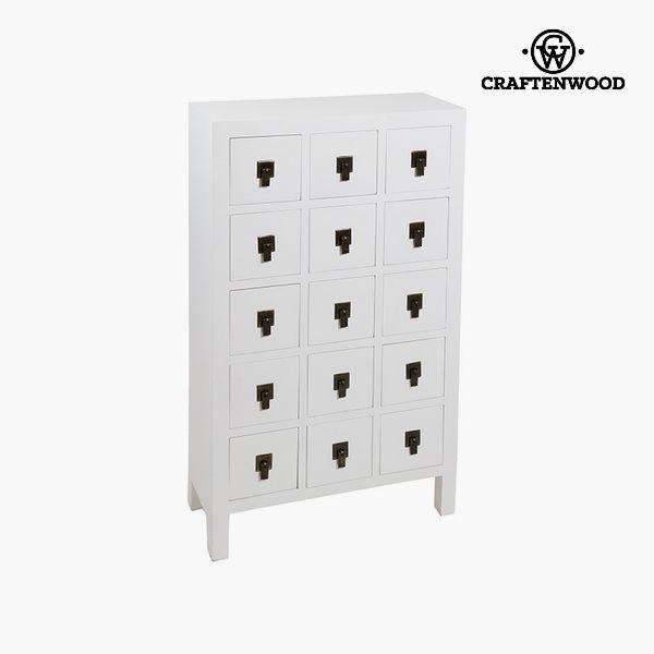 Recibidor Mdf Blanco (63 x 26 x 105 cm) - Colección Modern by Craftenwood