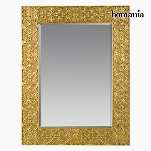 Espejo Cuadrado Oro - Colección Queen Deco by Homania