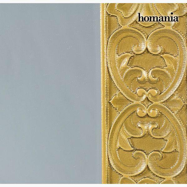 Espejo Cuadrado Oro - Colección Queen Deco by Homania (1)