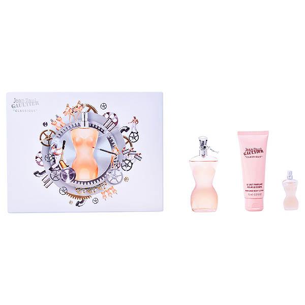 Set de Perfume Mujer Classique Jean Paul Gaultier 01348 (3 pcs)
