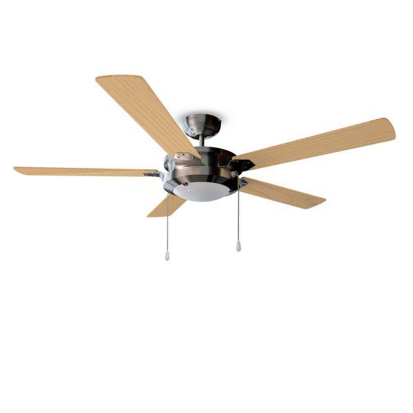 Ventilatore da Soffitto con Luce Cecotec Forcesilence Aero 540 60W