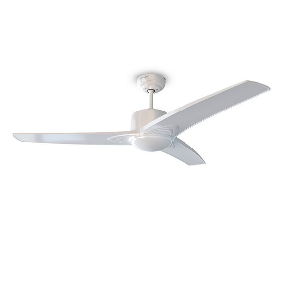 Ventilatore da Soffitto con Luce Cecotec Forcesilence Aero 550 60W