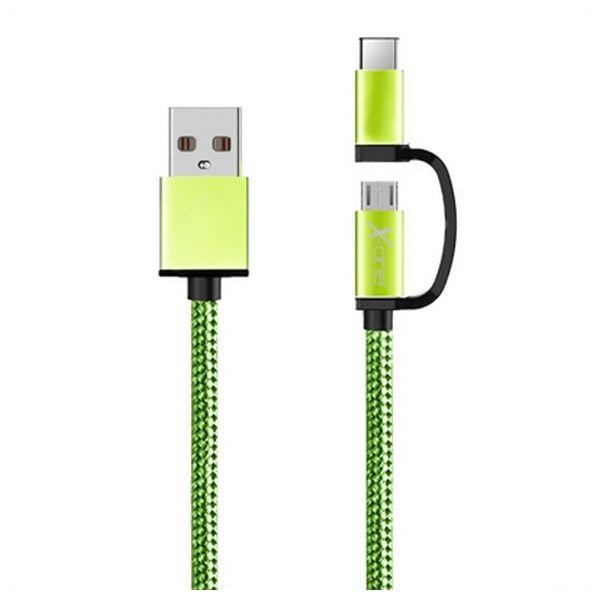 USB kabel za Micro USB in USB C Ref. 101134