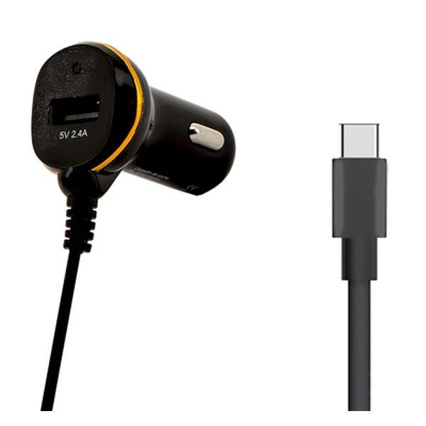 Caricabatterie per Auto Ref. 138246 USB Nero