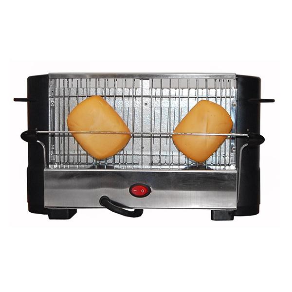 Toaster COMELEC TP-7713/7714 800W Črna Nerjaveče Jeklo