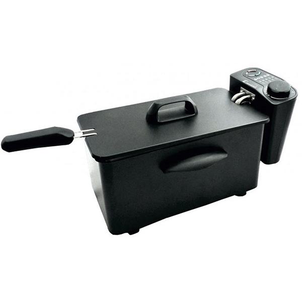 Freidora COMELEC FR3081N 2,5 L 1600W Negro