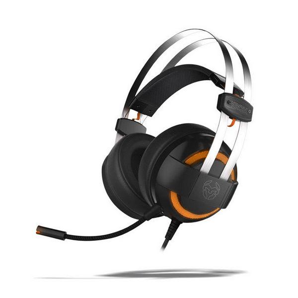Slušalke z Mikrofonom Gaming KROM Kode 7.1 Virtual NXKROMKDE