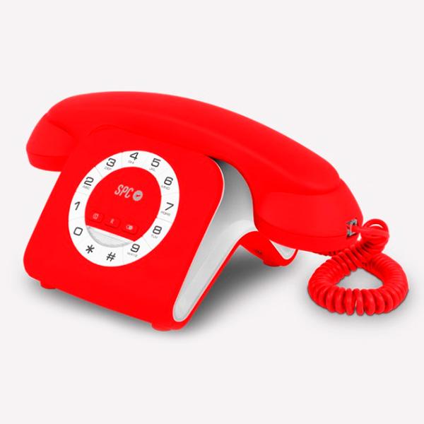 Telefono Fisso SPC 3609R Rosso