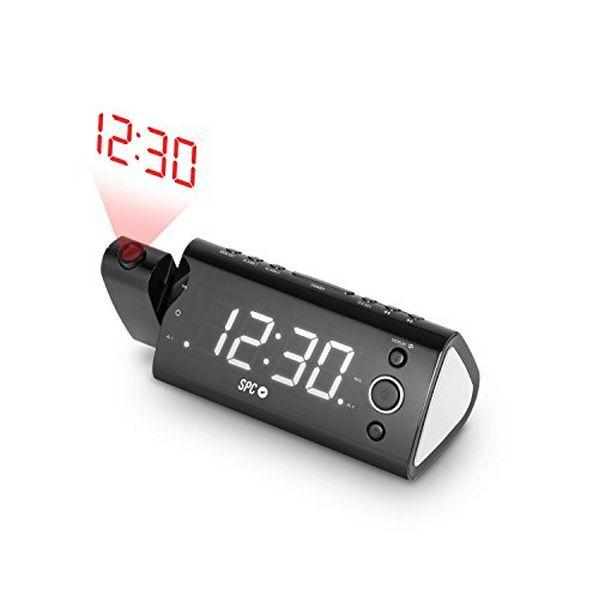 Radiosveglia con proiettore LCD SPC 4571B 1.2