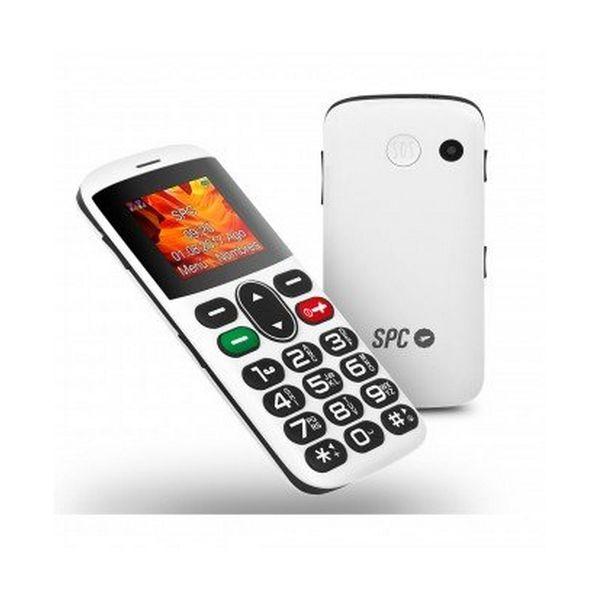 TELéFONO MóVIL SPC NTETMO0694 2305B QVGA 128 X 160 PX BLUETOOTH MICRO SD DUAL SIM FM + DOCK BLANCO