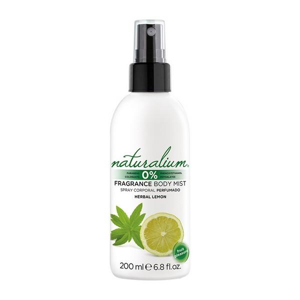 Fragranza Corpo Herbal Lemon Naturalium (200 ml)