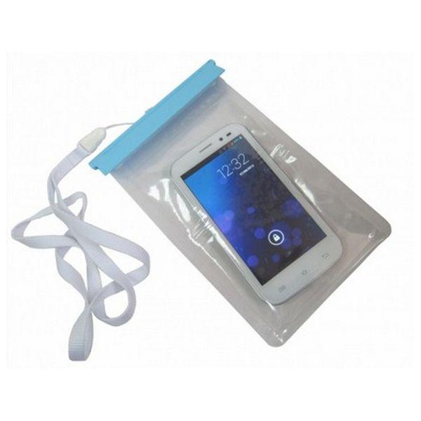 Custodia Subacquea CoolBox ACTCOOBAG1 Smartphone Tablet Waterproof Trasparente