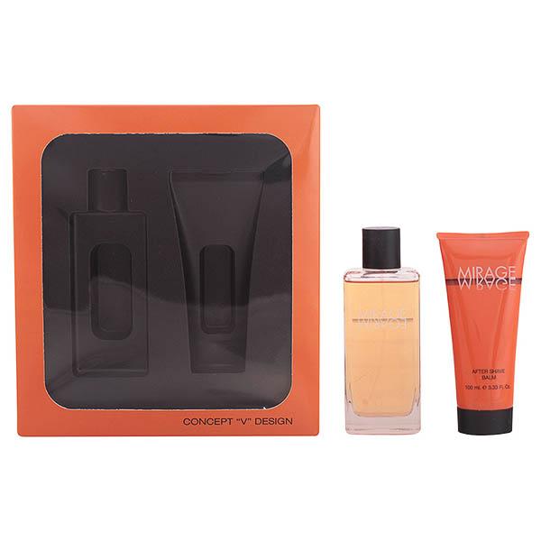 Set de Perfume Hombre Mirage Concept V Design (2 pcs)