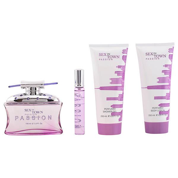 Set de Perfume Erótico Sex In Town Passion Concept V Design (4 pcs)