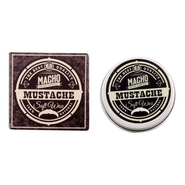 Cera de Fijación Suave Mustache The Macho Beard Company