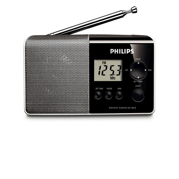 Radio Portatile Digitale Philips AE1850/00 MW/FM Nero