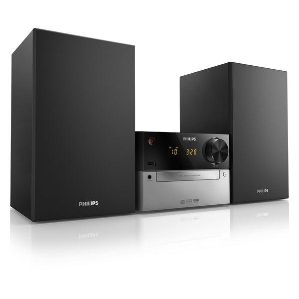 Impianto Stereo Philips MCM2300/12 FM 15W Nero