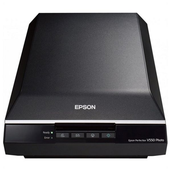 Escáner Portátil Epson Perfection V550 Photo B11B210302 6.400 ppp 3,4 Dmax A4 USB 2.0 B