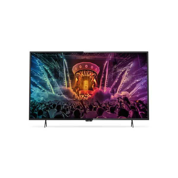 """Philips 6000 series 49PUH6101/88 49"""" 4K Ultra HD Smart TV Wi-Fi Black LED TV"""