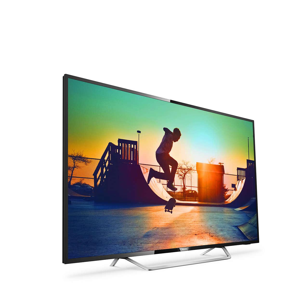 """Smart TV Panasonic 65PUS6162 65"""" Pixel Plus Ultra HD 4K LED USB x 2 WIFI Negro"""