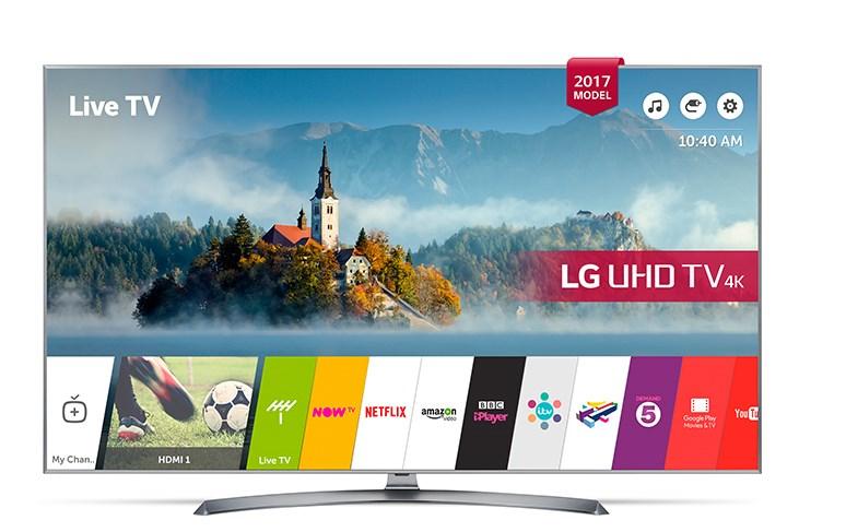 """Smart TV LG 65UJ750V 65"""" Ultra HD 4K LED HDR Wifi Negro"""