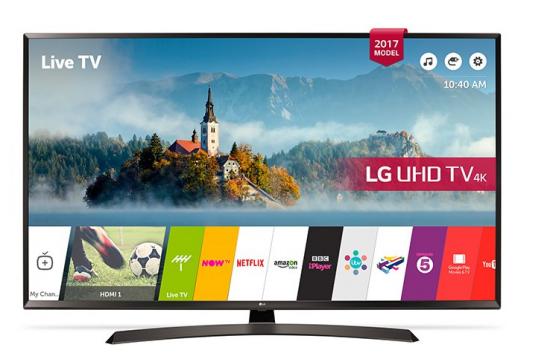 """Smart TV LG 60UJ634V 60"""" Ultra HD 4K LED HDR Wifi Negro"""