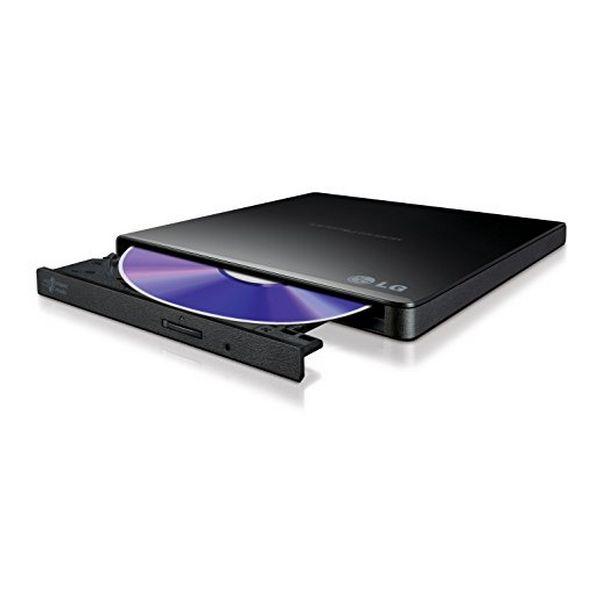 Zunanji Snemalnik DVD-RW Ultra Slim LG DVD-RW GP57EB40 USB Črna