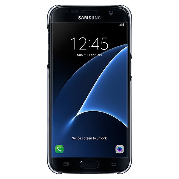 Cusodia per Cellulare Samsung EF-QG930 Clear Cover 5.1 Nero