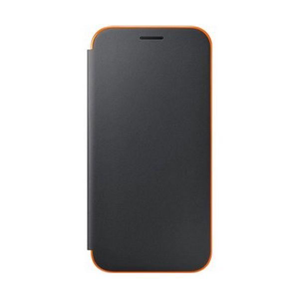 Funda para Teléfono Móvil Samsung EF-FA520PBEGWW Samsung A5 2017 Neon Flip Cover Negra