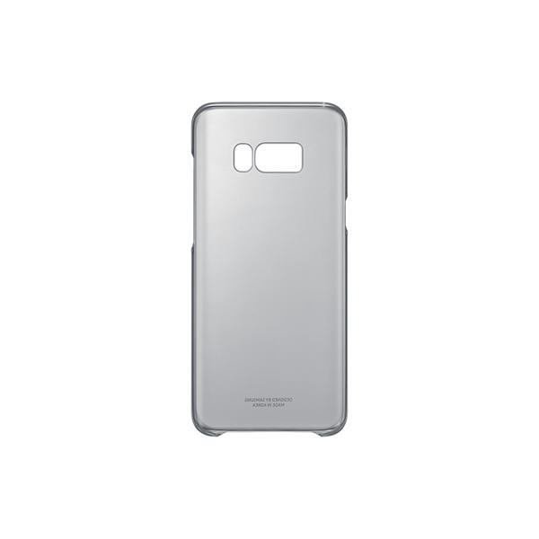 Custodia per Telefono Cellulare Samsung 222143 Samsung S8+ Clear Cover Nero