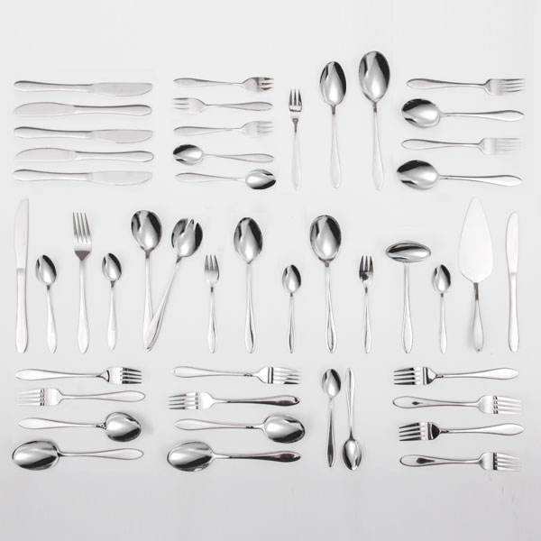 Cubertería de Acero Inoxidable Bravissima Kitchen (60 piezas) (4)