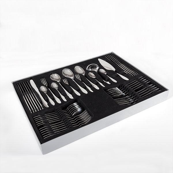 Cubertería de Acero Inoxidable Bravissima Kitchen (60 piezas) (3)