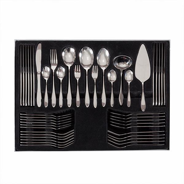 Cubertería de Acero Inoxidable Bravissima Kitchen (60 piezas) (2)