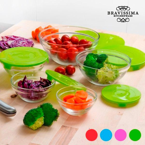 Bols de Cristal Bravissima Kitchen (5 piezas)