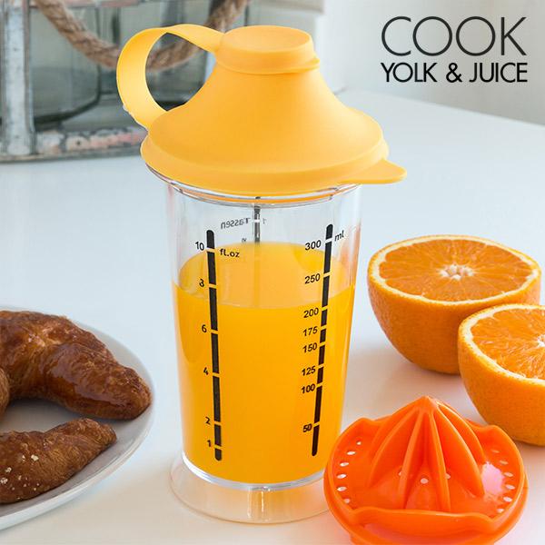 Kozarec za Mešanje z Ožemalnikom Cook Yolk & Juice