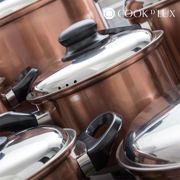 Batería de Cocina Cook D'Lux (12 piezas) (5)