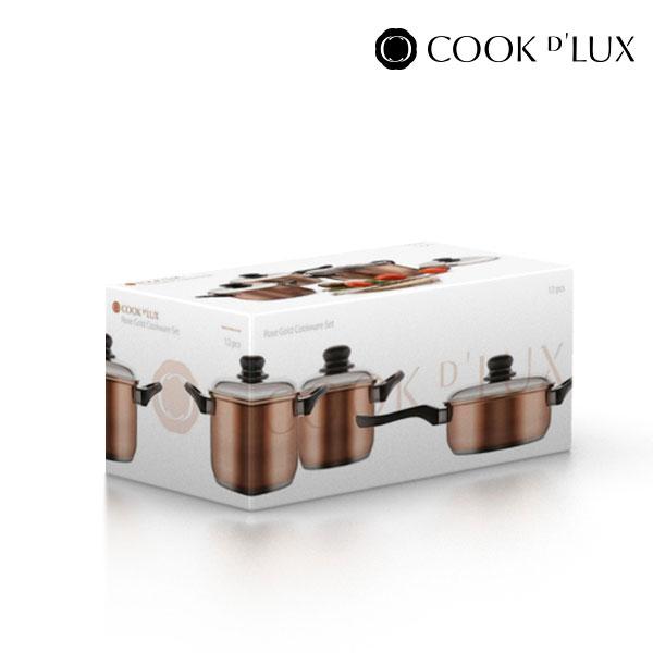 Batería de Cocina Cook D'Lux (12 piezas) (4)