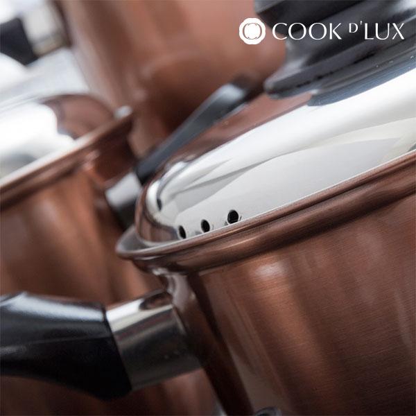Batería de Cocina Cook D'Lux (12 piezas) (3)