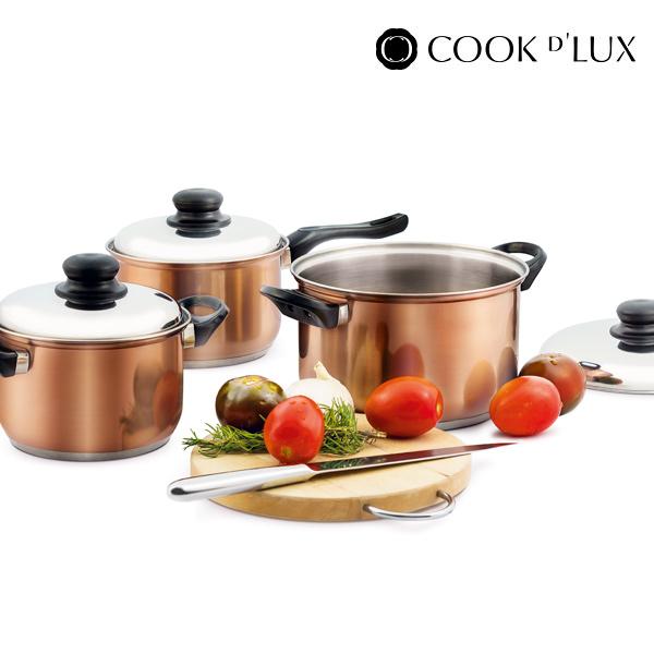 Batería de Cocina Cook D'Lux (12 piezas) (2)