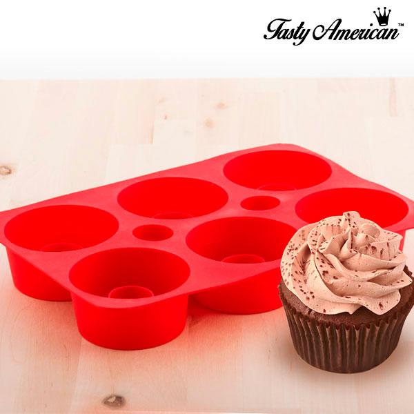 Stampo di Silicone per Cupcakes Tasty American