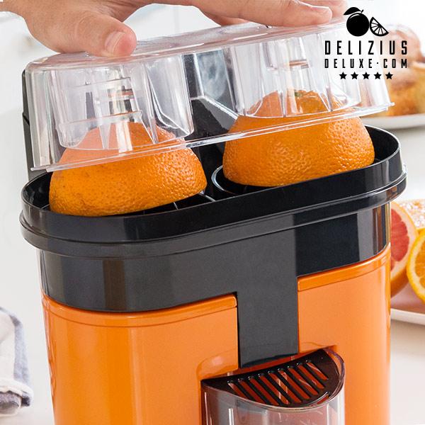 Exprimidor Eléctrico Delizius Deluxe Double Orange Juicer 0,5 L 90W Naranja Negro (5)